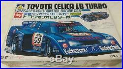 MODEL KIT AOSHIMA RC CAR TOYOTA Celica LB Turbo Body Moter Rar From JAPAN F/S J5