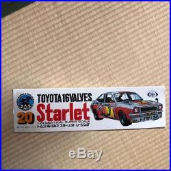 Marui 1/24 plastic model Toyota Starlet plastic kit model USED japan import F/S