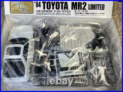 Micro Toyota MR-2 Limited `84 Owners Collection 1/20 Model Kit #17341