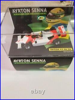 Minichamps Diecast 143 Ayrton Senna Racing Car Collection Ralt Toyota