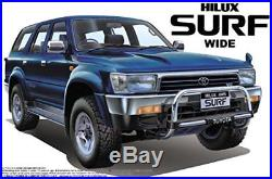 NEW Aoshima 1/24 The Best Car GT Series No. 97 Toyota Hilux Surf Wide Plasti