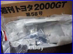 NEW DeaGOSTINI TOYOTA GT2000 1/10 car Model kit DIY vol. 1- 65 complete set
