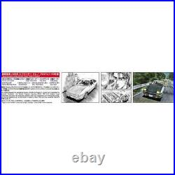 New Aoshima Initial D No. 1 Takumi Fujiwara AE86 Sprinter Trueno F/S from Japan