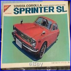 Nichimo 1/20 Toyota Corolla Sprinter SL Motorized Red Plastic Model Car retro