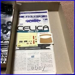 Nichimo TOYOTA CELICA 1600GT 1/20 Model Kit #14660