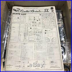 Nichimo TOYOTA COROLLA SPRINTER SL 1/20 Model Kit Vintage F/S #12348