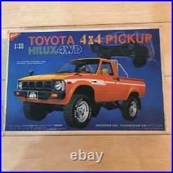 Nichimo TOYOTA HILUX 4WD 4×4 PICKUP 1/20 Model Kit #15912
