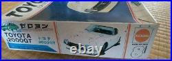 Nichimo Toyota 2000GT 1/24 Street Powar Zeroyon Series Plastic model Rare