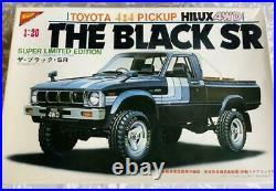 Nichimo Toyota HILUX 4WD Black SR Plastic model Super Limited Edition