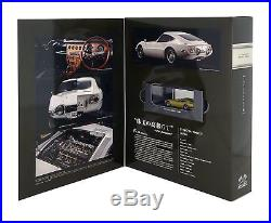 OEM TOYOTA 2000GT Collection frame stamp set Minicar Anniversary Very rare JAPAN