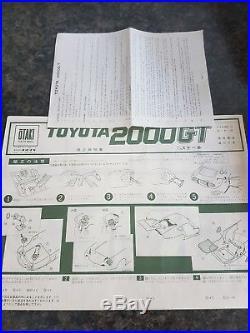 Otaki 1/16 Toyota 2000GT Motorized Great Condition Complete Very Rare