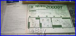Otaki 1/16 Toyota 2000gt Vintage Model Kit Very Rare