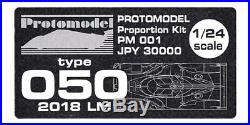 PROTOMODEL TOYOTA TYPE 050 2018 Le Mans PM001 1/24 PROPORTION KIT FROM JAPAN