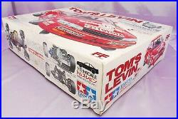 RARE TAMIYA 1/10 RC TOYOTA TOM'S LEVIN FWD Model Kit #58131 NEW