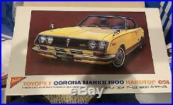 RARE! Toyota Corona Mark II toyopet 1/20 Model Kit Brand New