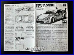 Rad Condition! TAMIYA 1/24 TOYOTA SARD Supra GT Valuable