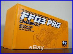 Rare New Tamiya 1/10 R/C FF03 PRO Chassis Front Motor Drive 2WD Discontinued