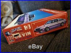 Rare Old Fujimi 1/24 Toyota Corolla Levin TE71 1600