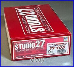 Rare ST27 Studio 27 1/20 curbside F1 kit Toyota TF105'Panasnic' 2005 F1 season