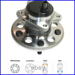 Rear Wheel Bearing & Hub Assembly LH RH Kit Pair Set for Toyota Avalon Camry New
