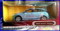 Road Signature 2003 Toyota Matrix Die Cast 118 Yat Ming Industrial Factory New