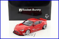 Rocket Bunny Toyota 86 Red/Silver 118 AUTOart