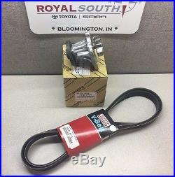 Scion xB 2008 2015 Water Pump and Drive Belt Kit Genuine OE OEM (SEE DETAILS)