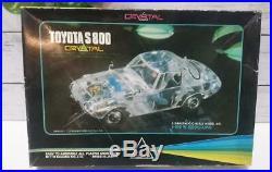 Set 3 Nitto Crystal Pkastic model kit Toyota S800 / Honda S800 / DATSUN SR311