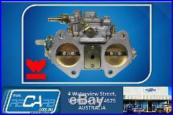 Single 45 DCOE GENUINE WEBER Carburetor Kit suit Toyota 2T 3T Aus Models Only