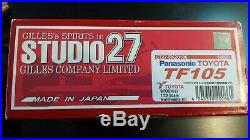 Studio 27 1/20 Toyota TF105 Panasonic (FK20186) R. Schumacher Trulli Zonta