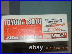 Studio 27 1/24 Toyota Tom's Ts010 LM 93' Resin Kit Fk2424 Studio27