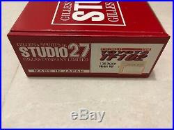 Studio27 1/20 Toyota Tf102 2002 Resin Model Car Kits