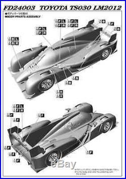 Studio27 FD24003 124 Toyota TS030 LM2012 resin kit model car kits