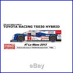 Studio27 FD24007 124 Toyota TS030 Hybrid Hybrid LM2013 #7 resin kit
