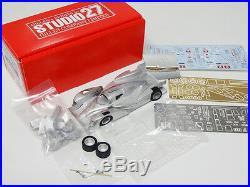 Studio27 FD43026 143 TOYOTA TS030 WEC 2013 Fuji Qualify Multimedia Kit