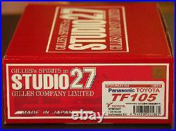 Studio27 FK20186 120 TOYOTA TF105 2005 resin kit Multimedia Kit