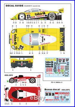 Studio27 FK2471R 124 Toyota 89 C-V taka-Q LM'89 Original model car kits