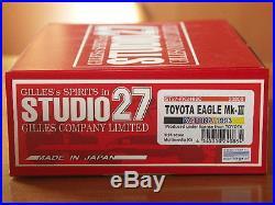Studio27 FK2488 124 Toyota Eagle Mk III Daytona 1993 resin kits
