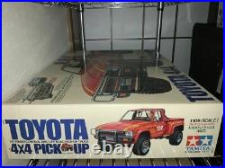 TAMIYA 1/10 RC Toyota 4x4 Pick up 4WD Off Road Model Kit 5828 from Japan