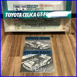 TAMIYA 1/10 RC Toyota Celica GT Four Rally Rac Rally Winner 4WD Model Kit 58096