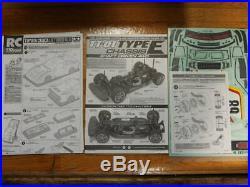 TAMIYA 1/10 RC Toyota Celica LB Turbo Gr. 5 TT-01 TYPE-E Chassis Model Kit 58513