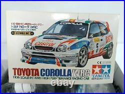 TAMIYA 1/10 RC Toyota Corolla WRC 4WD Racing Car Model Kit 58218 from Japan