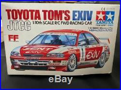 TAMIYA 1/10 RC Toyota Tom's Exiv JTCC FWD Racing Car Model Kit 58167 from Japan