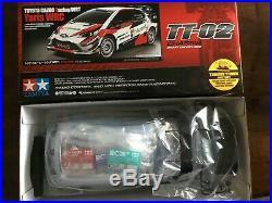 TAMIYA 1/10 Toyota Gazoo Racing Yaris Kit on TT02 Model 58659