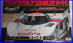 TAMIYA 1/12 RC Toyota Tom's 84C Racing Master Mk. 6 Model Kit 58049 from Japan