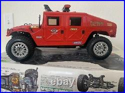 TAMIYA 1/12 scale 4WD Fire Rescue M1025 Hummer R/C model kit NEW Build