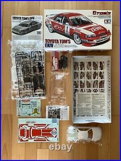 TAMIYA 1 24 Model Kit Toyota Toms Exiv JTCC Sport Car Corona 155 Rare