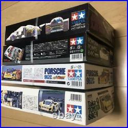 TAMIYA 1/24 Sports Car Series No. 83/84/233/289 Set of 4 Toyota Jaguar Porsche