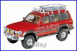 TAMIYA 1/24 Toyota Land Cruiser 80 with sports options 24122 model kit