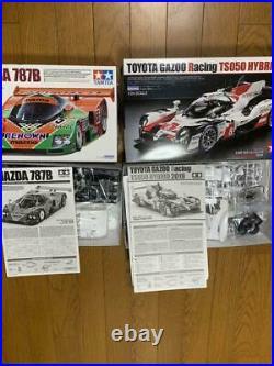 TAMIYA MAZDA 787B, TOYOTA GAZOO Racing TS050 HYBRID 2019 1/24 Le Mans Set